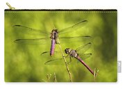 Pink Dragonflies Carry-all Pouch