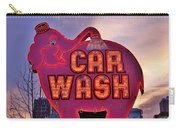 Pink Elephant Car Wash Carry-all Pouch
