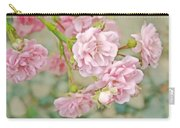 Pink Fairy Roses Carry-all Pouch by Jennie Marie Schell