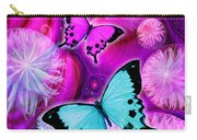 Pink Fantasy Flower Carry-all Pouch