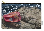 Pink Flip Flop Carry-all Pouch