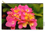 Pink Flower Austin Carry-all Pouch