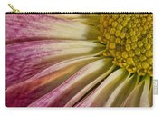 Pink Flower Macro Carry-all Pouch