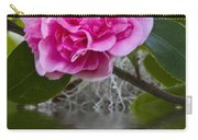 Pink Flower Reflection Carry-all Pouch