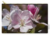 Pink Flowering Crabapple Blossoms Carry-all Pouch