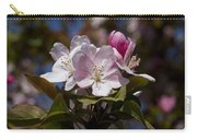 Pink Flowering Crabapple - Malus Carry-all Pouch