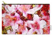 Pink Flowers 2 Carry-all Pouch