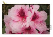 Pink Flowers In Spring Carry-all Pouch