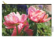 Pink Fluffy Tulips Carry-all Pouch