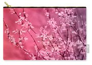 Pink Forsythia Carry-all Pouch