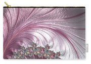 Pink Froth A Fractal Abstract Carry-all Pouch