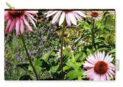 Pink Garden Carry-all Pouch