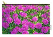 Pink Garden Flowers Carry-all Pouch