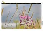 Pink Gem - Fire Weed Wildflower In Grand Teton National Park - Wyoming Carry-all Pouch