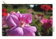 Pink Geranium Carry-all Pouch