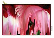 Pink Gladiolas Abstract Carry-all Pouch