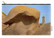 Pink Granite Lighthouse Carry-all Pouch