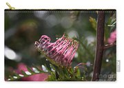 Pink Grevillea Carry-all Pouch