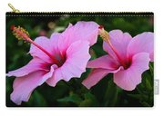 Pink Hibiscus II Carry-all Pouch