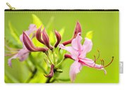Pink Honeysuckle Flowers Carry-all Pouch