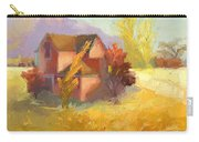 Pink House Yellow Field Carry-all Pouch