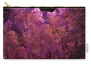 Pink Hydrangea Fractal Blossoms Carry-all Pouch