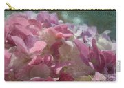 Pink Hydrangea Photoart I Carry-all Pouch