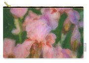 Pink Iris Family Carry-all Pouch