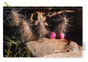 Pink Lady Cactus Carry-all Pouch