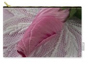 Pink Lavatera Bud Macro Carry-all Pouch
