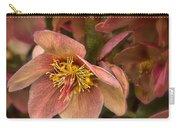 Pink Lenten Rose Carry-all Pouch