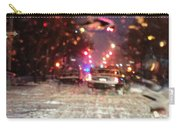 Pink Lights In Snowtrax Carry-all Pouch