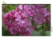 Pink Lilacs Carry-all Pouch