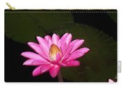 Pink Lilies And Pads Carry-all Pouch