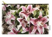 Pink Lilies I Carry-all Pouch
