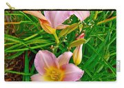 Pink Lilies Near Ottawa-on Carry-all Pouch