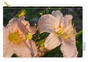 Pink Lily At Sunset 2 Carry-all Pouch