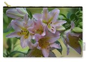 Pink Lily Fantasia Carry-all Pouch
