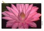 Pink Lily Flower Carry-all Pouch