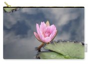 Pink Lily Monet Carry-all Pouch