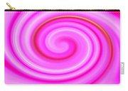 Pink Lollipop Swirl Carry-all Pouch