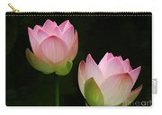 Pink Lotus Duet Carry-all Pouch