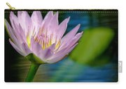 Purple Petals Lotus Flower Impressionism Carry-all Pouch