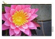 Pink Lotus Flower - Zen Art By Sharon Cummings Carry-all Pouch