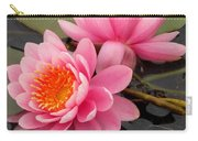 Pink Lotus Pair Carry-all Pouch