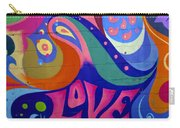 Pink Love Graffiti Nyc 2014 Carry-all Pouch