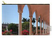 Pink Marble Colonnade Carry-all Pouch