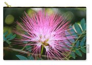 Pink Mimosa Flower Carry-all Pouch