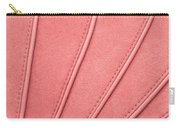 Pink Moleskin Carry-all Pouch