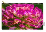Pink Mystery Flower Carry-all Pouch